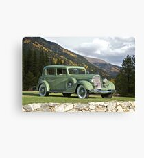 1935 Buick Club Sedan Canvas Print