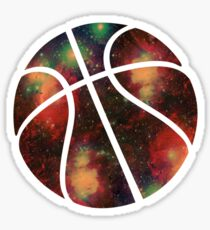 Basketball Galaxy Sticker
