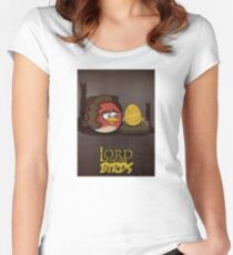 Lord of the Birds - Frodo Women's Fitted Scoop T-Shirt