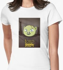 Lord of the Birds - Gollum Women's Fitted T-Shirt