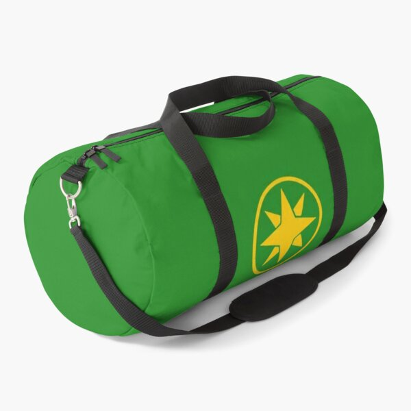 Green Samurai Ranger Duffle Bag