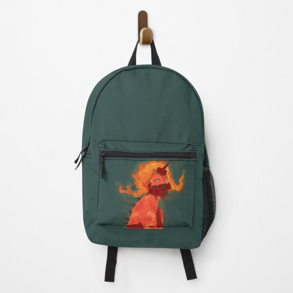 Fire-rose artwork Backpack