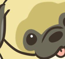 Pug Socks Sticker