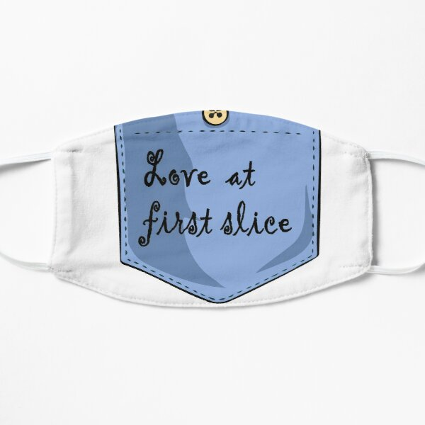 Love at first slice Mask