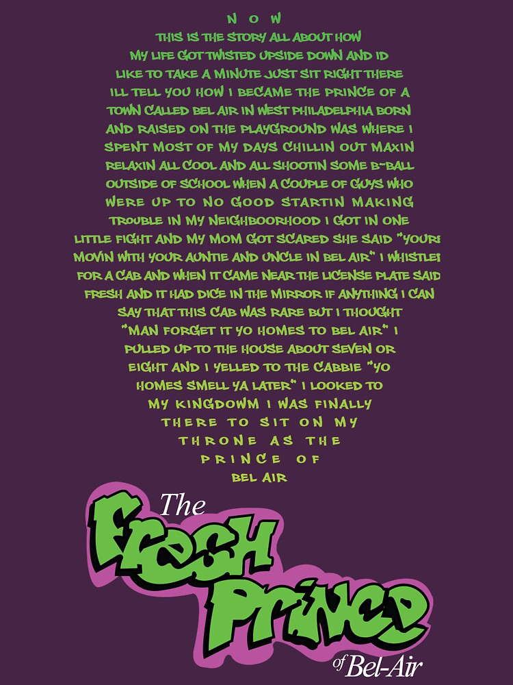 The Fresh Prince of Bel-Air  | Unisex T-Shirt