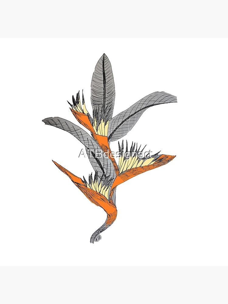 Bird of Paradise by ATBdesignart