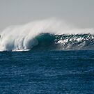 Huge wave, Long Reef by Don Norris