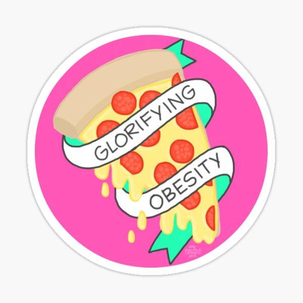 Glorifier l'obésité 2.0 Sticker