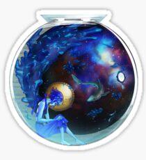 Fresh Static Snow - Lapis Lazuli Sticker