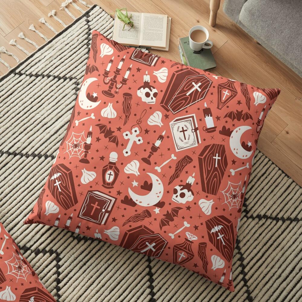 Vampire Vibes Floor Pillow