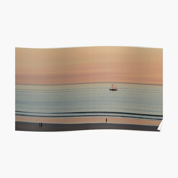 Broome - a lugger at sunset Poster