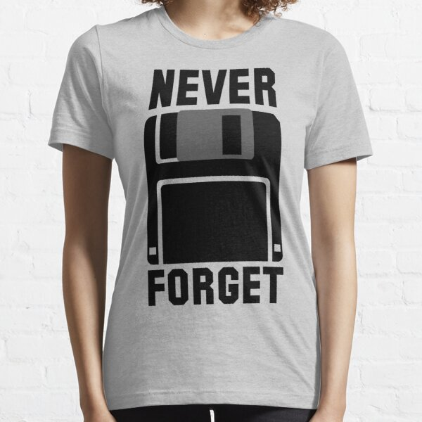 Floppy Disk Never Forget Essential T-Shirt