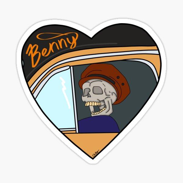 Benny  Sticker