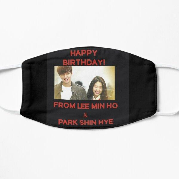 Happy Birthday From Lee Min Ho + Park Shin Hye Mask