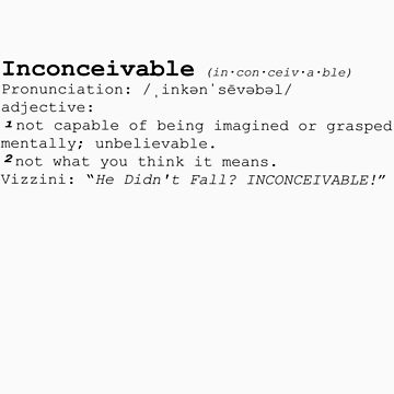 INCONCEIVABLE by dagbar