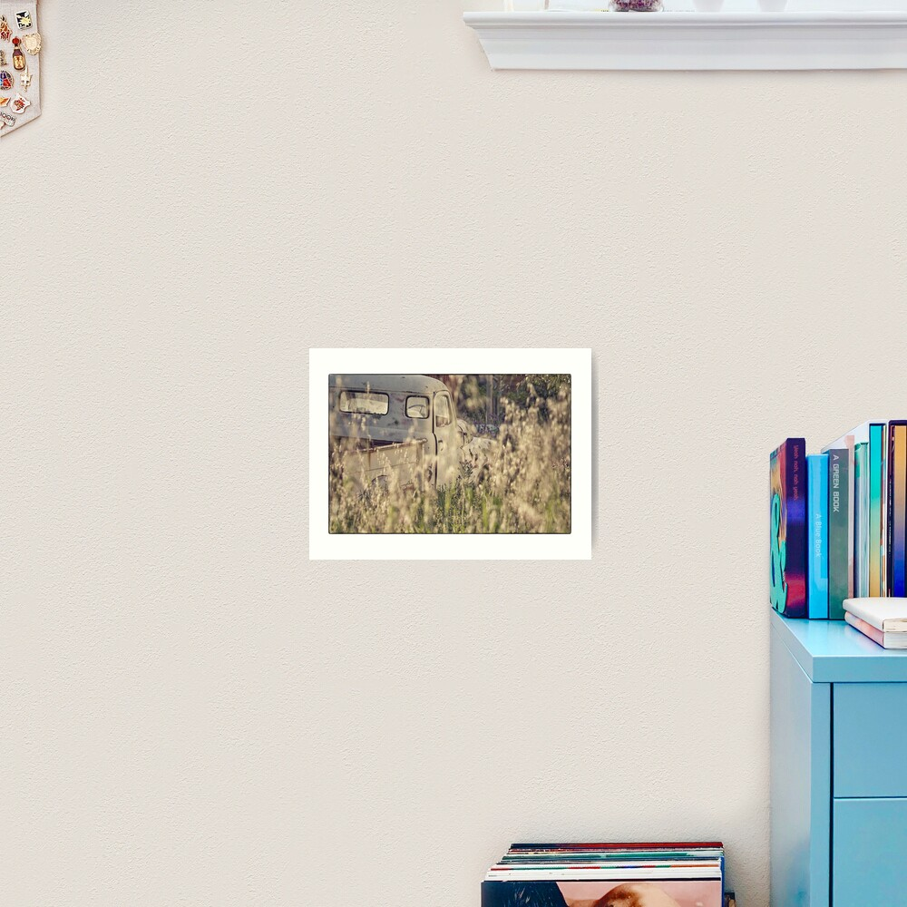 Wrecks and Weeds #2  Art Print