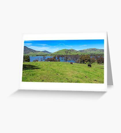 Hume Wier - Tallangatta Valley Greeting Card