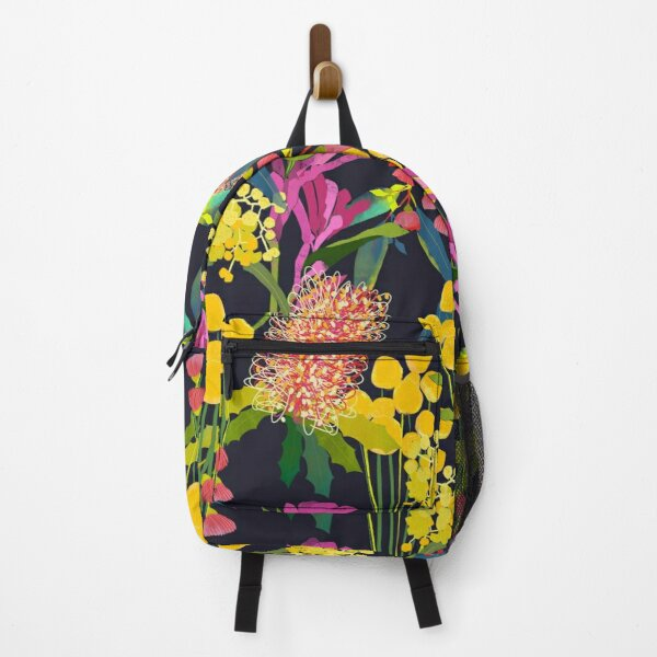 Australian Wild Flowers Backpack