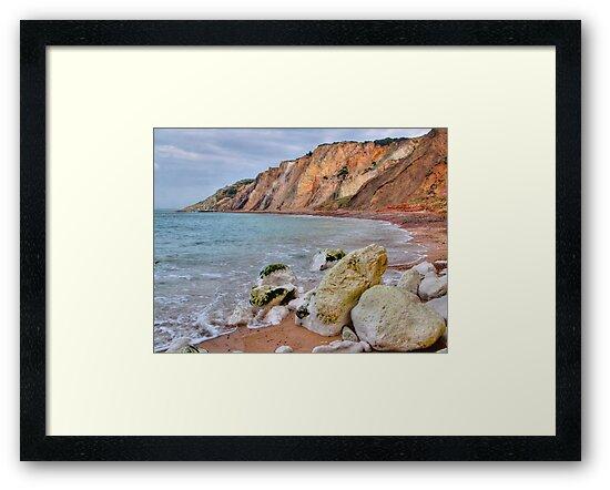 The Beach Alum Bay - I.O.W. by Colin  Williams Photography