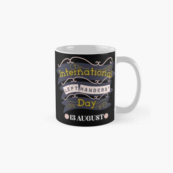 Customised Left Handers Day Mug for Risa Classic Mug