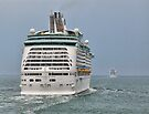 Cruising - MV Adventure Of The Seas, and MV Ventura. - The Solent by Colin  Williams Photography
