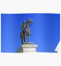 Ulysses S. Grant Guards The United States Capitol Poster