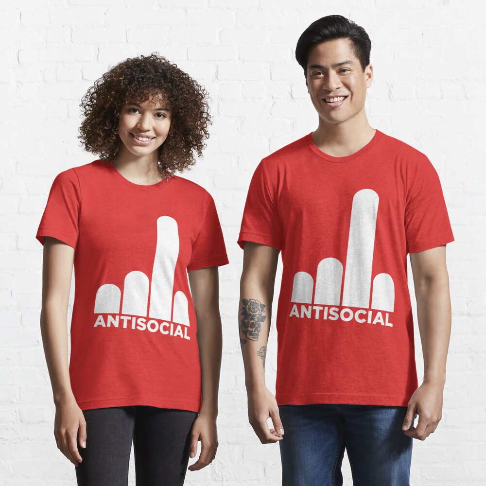 Antisocial Essential T-Shirt