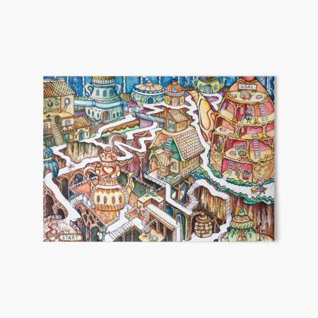 Teapot Maze  Art Board Print