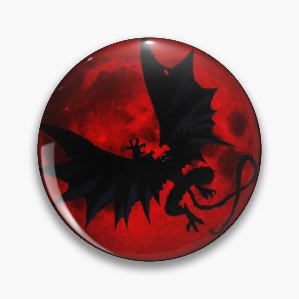 Devilman Red Moon Pin