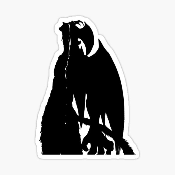 Akira Devilman Form Sticker