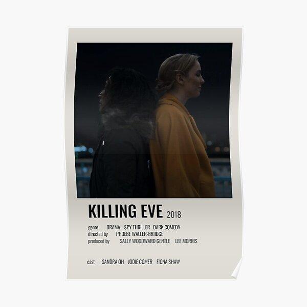 Póster Killing Eve Minimalist Póster
