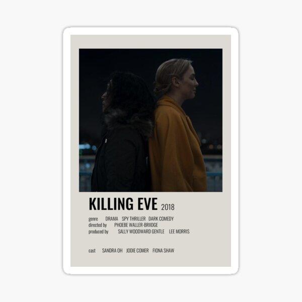 Killing Eve Minimalist Poster Sticker