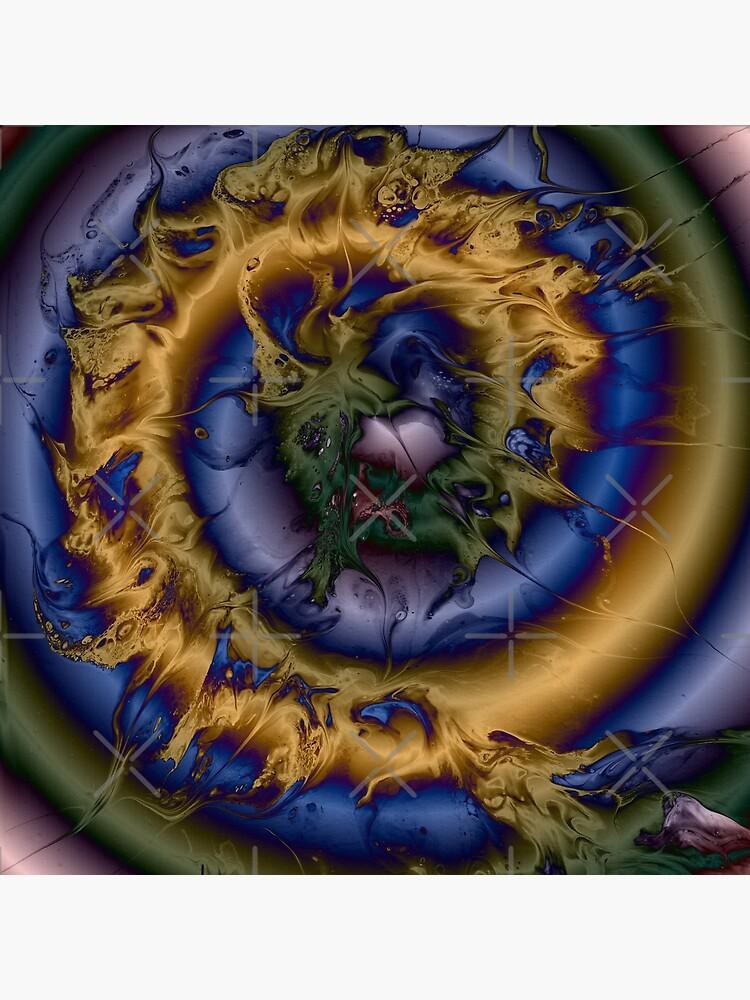 Silken Spiral by kerravonsen