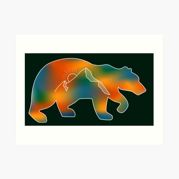 Ursa California Art Print