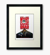 night of the living dead  Framed Print