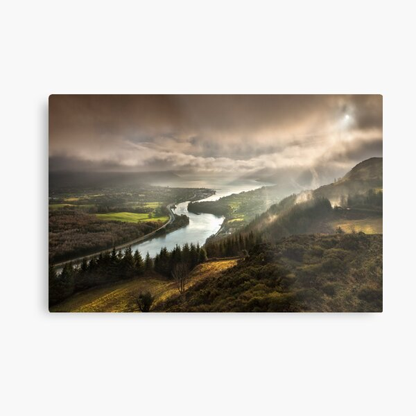 Carlingford Lough Metal Print