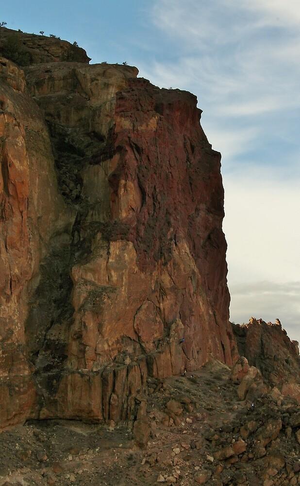 Smith Rock Climbers by Patricia Shriver