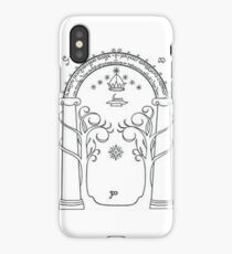 The door of Durin iPhone Case