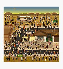 Super Breaking Bad DELUXE Photographic Print