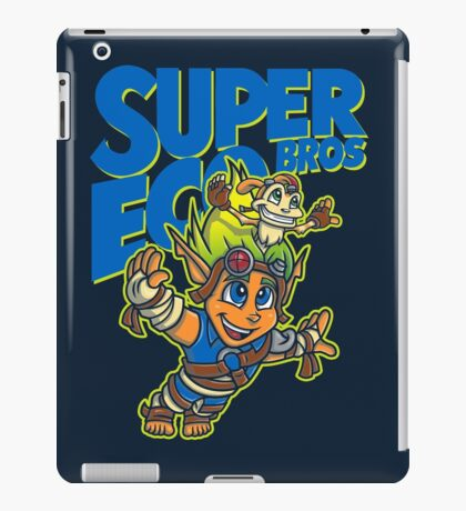 Super Eco Bros iPad Case/Skin