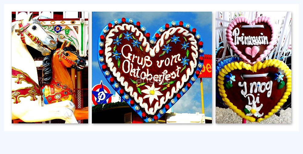 Oktoberfest Greetings by ©The Creative  Minds