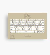 Photoshop Keyboard Shortcuts Brwn Tool Names Canvas Print