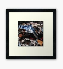 Only one previous owner Framed Print