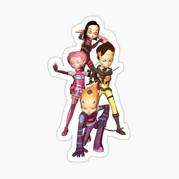 Guerriers Lyoko Sticker