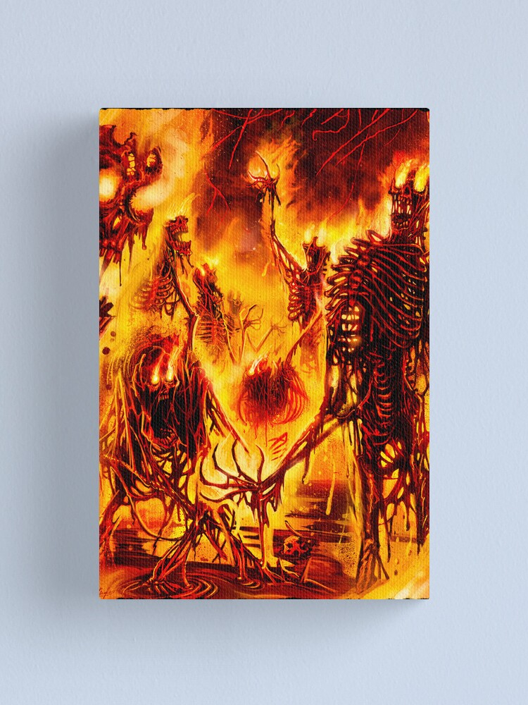 Alternate view of PURIFICATION Canvas Print