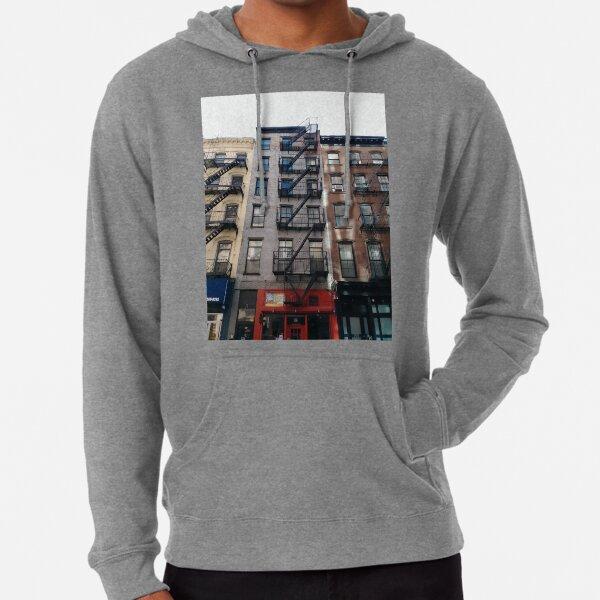New York City, New York, Brooklyn, Manhattan, building, house, skyscraper, Street View, street Lightweight Hoodie