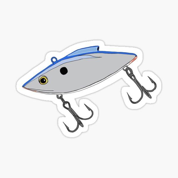 Rattle Trap Fishing Lure Sticker