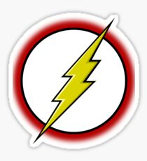 Flash Logo Sticker