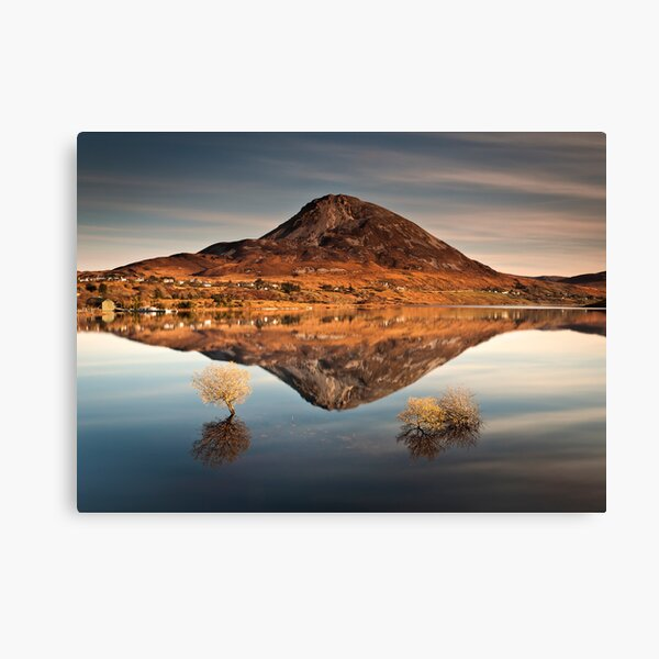 Reflections of Errigal Canvas Print