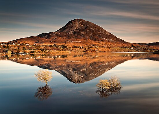 Reflections of Errigal by GaryMcParland